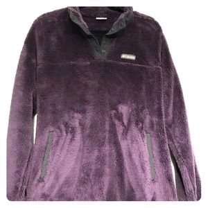 Women's Columbia Pull Over Purple XL